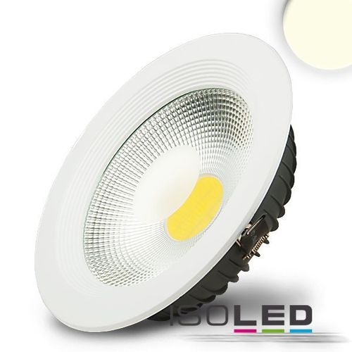 LED COB Reflektor Downlight 225mm weiss ISOLED 30W (ca. 150W) neutralweiss