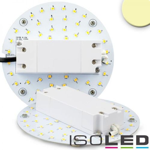LED Umrüstplatine 130mm mit Magnet ISOLED 9W (ca. 75W) warmweiss