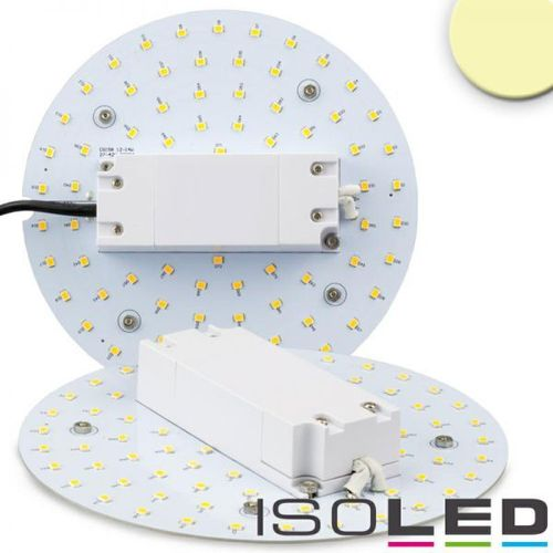 LED Umrüstplatine 160mm mit Magnet ISOLED 12W (ca. 100W) warmweiss