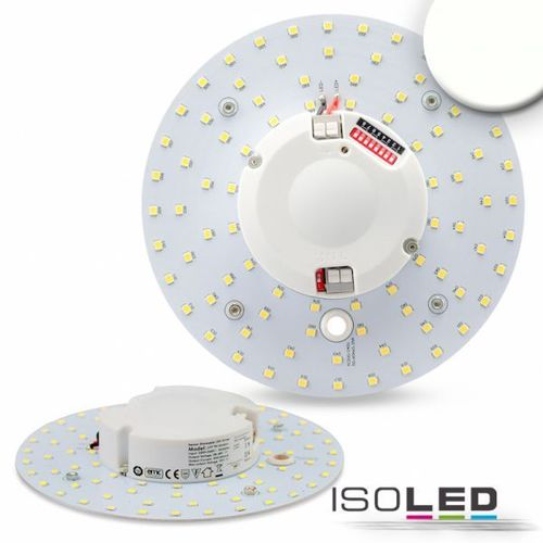 LED Umrüstplatine 160mm mit Magnet & Radarsensor ISOLED 14W (ca. 100W) NW