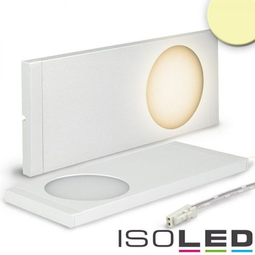 LED Unterbauleuchte weiss superflach ISOLED 6W (ca. 30W) 12VDC warmweiss