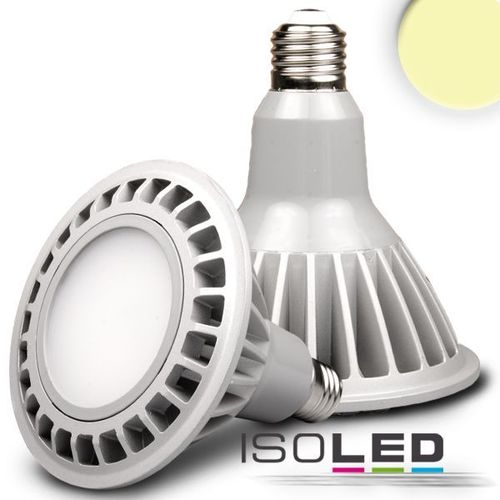 Spot LED E27 ISOLED 14W (ca. 75W) 870lm PAR38 blanc chaud dimm.