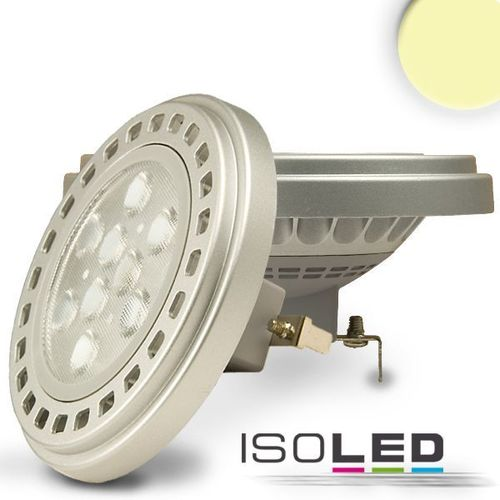 LED Spot AR111 G53 ISOLED 11W (ca. 60W) 650lm 30° warmweiss