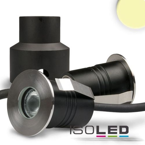 LED Bodeneinbaustrahler IP68 ISOLED 2W (ca. 20W) warmweiss