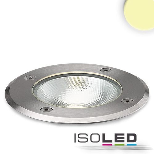 LED Bodeneinbaustrahler IP67 ISOLED 6W (ca. 40W) warmweiss