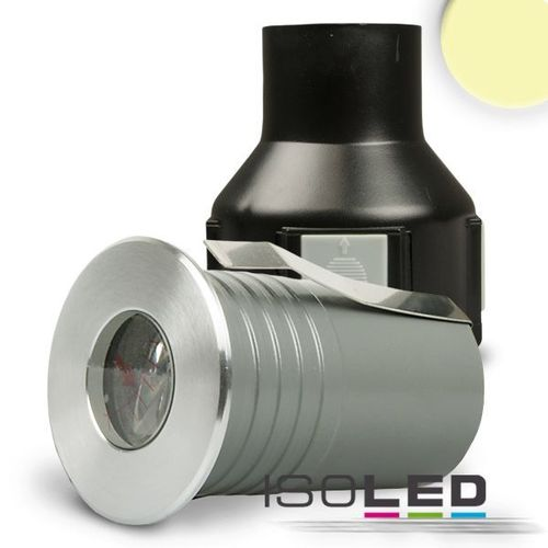 LED Bodeneinbaustrahler IP67 ISOLED 3W (ca. 10W) warmweiss
