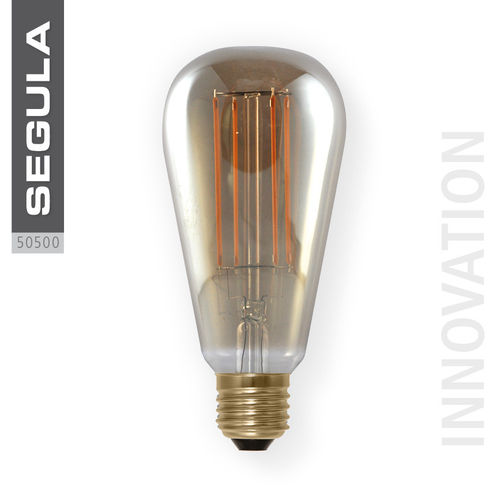 LED ampoule SMOKEY GREY Segula 50500 E27 6W (ca. 20W) 200lm 2000K dimmable