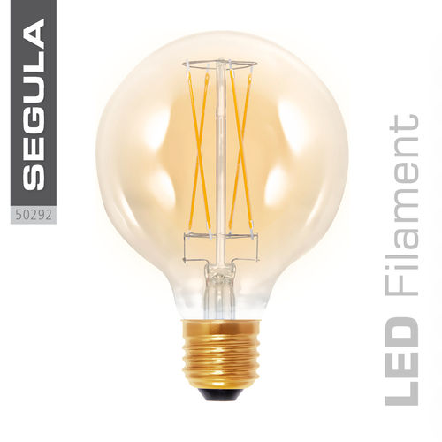 LED GOLDEN GLOBE 95 Segula 50292 E27 6W (ca. 30W) 325lm 2000K dimmable