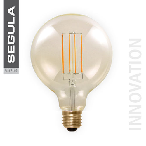 LED GOLDEN GLOBE 125 Segula 50293 E27 6W (ca. 30W) 325lm 2000K dimmable