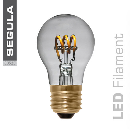 Filament LED Curved Segula 50525 E27 2.7W (ca. 10W) 90lm 2200K dimmable