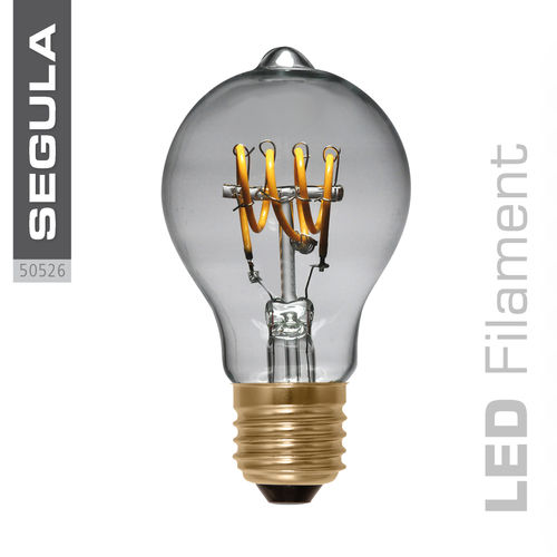 Filament LED Curved Segula 50526 E27 4W (ca. 15W) 160lm 2200K dimmable