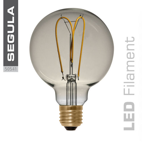 LED Filament Globe 125 Curved Gold Segula 50541 E27 4W (ca. 15W) 2200K dimm