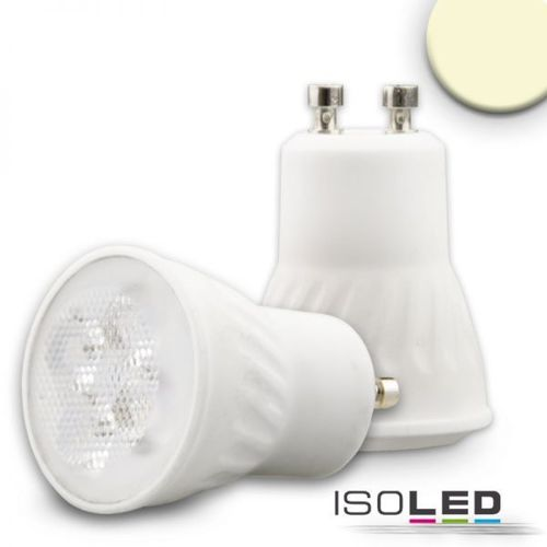 Mini LED Spot GU10 ISOLED 4.5W (ca. 35W) 300lm 38° warmweiss