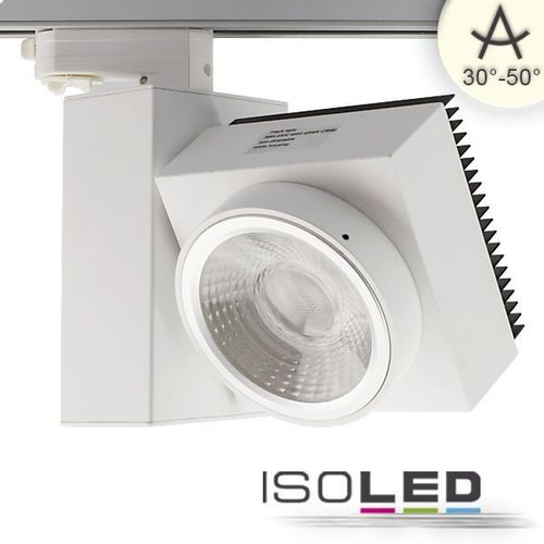 3-PH LED Schienenstrahler weiss ISOLED 30W (ca. 200W) warmweiss dimmbar