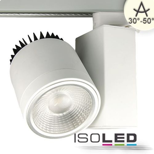 3-PH LED Schienenstrahler weiss ISOLED 35W 4600lm (ca. 275W) neutralweiss
