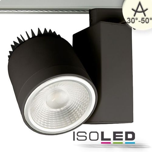 3-PH LED Schienenstrahler schwarz ISOLED 35W 4600lm (ca. 275W) neutralweiss