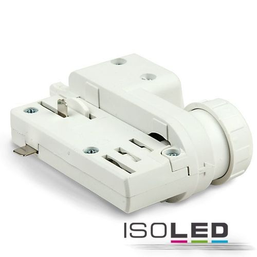 3-Phasen Adapter weiss ISOLED für EUTRAC & GLOBAL Schienen