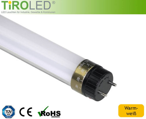 LED Röhre T8 TIROLED PRO 60cm 10W 800lm matt warmweiss