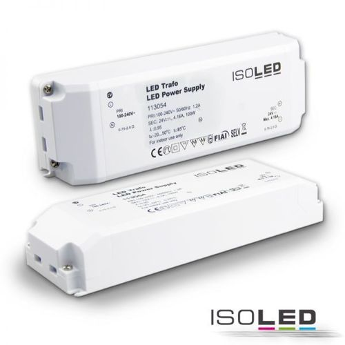 Alimentation LED ISOLED 24VDC 0-100W non dimmable