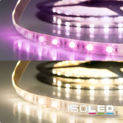 LED Flexband ISOLED SIL 19W/m 24V 72W IP20 RGB+WW 4in1 Chip 5m