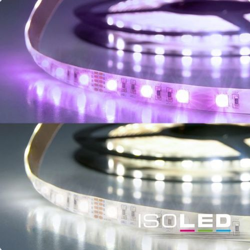 LED Flexband ISOLED SIL 19W/m 24V 72W IP20 RGB+KW 4in1 Chip 5m