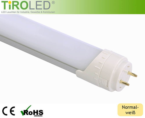 LED Röhre T8 TIROLED SOLANIA 120cm 18W 2200lm matt neutralweiss