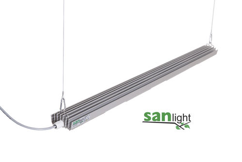 SANLIGHT S4W High End LED Pflanzenlampe 140Watt IP40 98cm