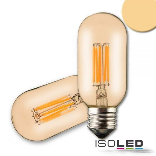 LED Filament Tube ISOLED E27 8W (ca. 50W) 600lm 2200K dimmbar