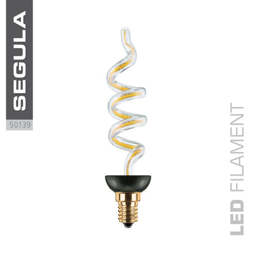 LED Filament ART CANDLE Segula 50139 E14 8W 330lm (ca. 30W) 2200K dimm.