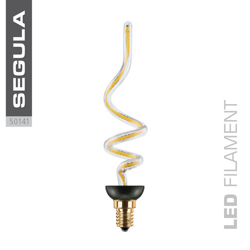 LED Filament ART FLAME Segula 50141 E14 8W 330lm (ca. 30W) 2200K dimm.