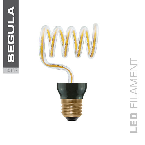 LED Filament ART LOOP CROSS Segula 50157 E27 12W 500lm (ca. 40W) 2200K dimm.
