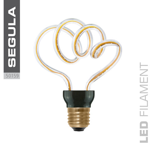 LED Filament ART CLOUD Segula 50159 E27 12W 500lm (ca. 40W) 2200K dimmbar