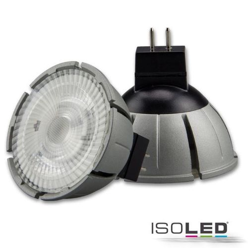 LED Spot MR16 ISOLED 8W 520lm (ca. 40W) warmw. 3000K 36° CRI>98 dimmbar