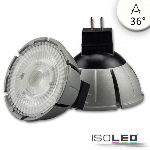 LED Spot MR16 ISOLED 8W 540lm (ca. 40W) neutralw. 4000K 36° CRI>98 dimmbar