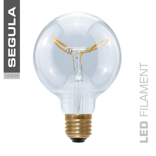 LED Filament Globe 95 Curved Segula 50409 E27 8W (ca. 25W) 2200K dimmbar
