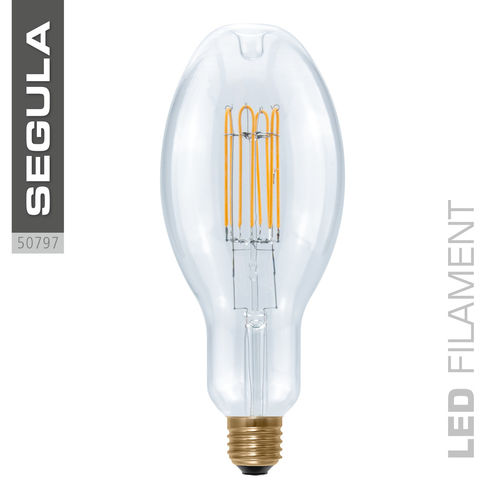 LED Filament Ellipse Curved Segula 50797 E27 10W (ca. 40W) 2200K dimmbar