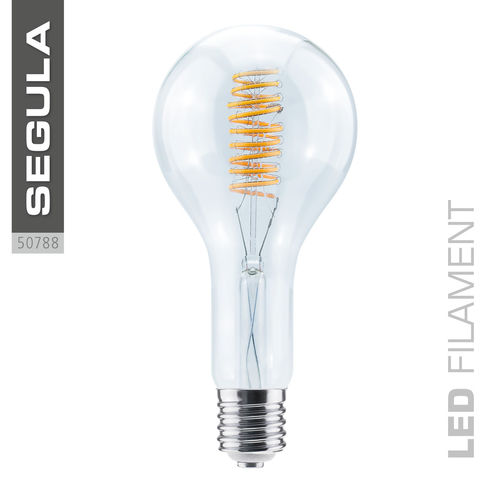 LED Filament Grand Bulb Curved Segula 50788 E40 15W (ca. 60W) 2200K dimmbar