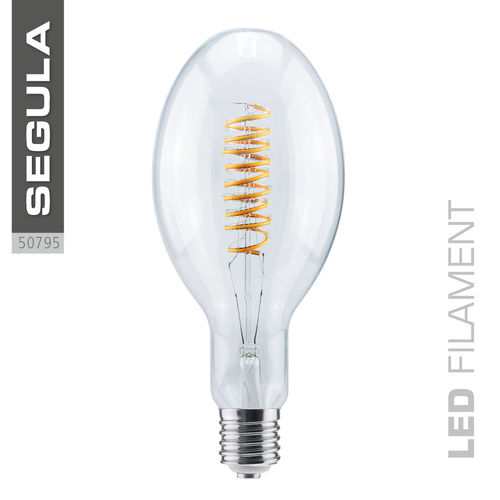 LED Filament Ellipse Curved Segula 50795 E40 15W (ca. 50W) 2200K dimmbar