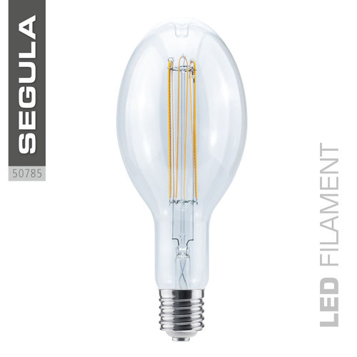 LED Filament Ellipse Curved Segula 50785 E40 18W (ca. 60W) 2200K dimmbar