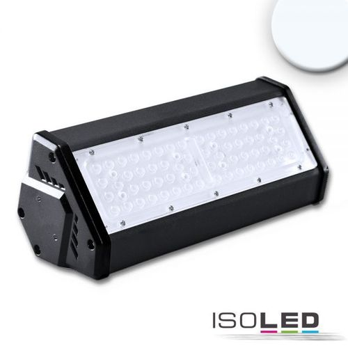 Projecteur LED ISOLED noir 50W (ca. 400W) 6500lm 30°+70° blanc froid