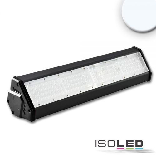 Projecteur LED ISOLED noir 100W (ca. 650W) 11800lm 30°+70° blanc froid