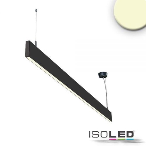 LED Hängeleuchte ISOLED Linear Up+Down schwarz 25W (ca. 125W) 300+1600lm WW