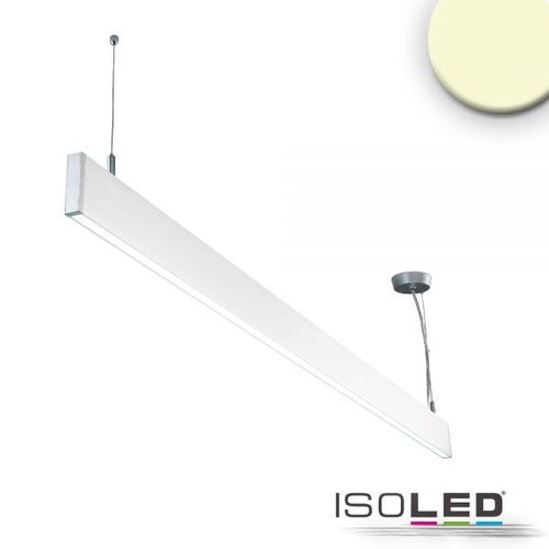 LED Hängeleuchte ISOLED Linear Up+Down weiss 40W (ca. 225W) 750+2550lm WW