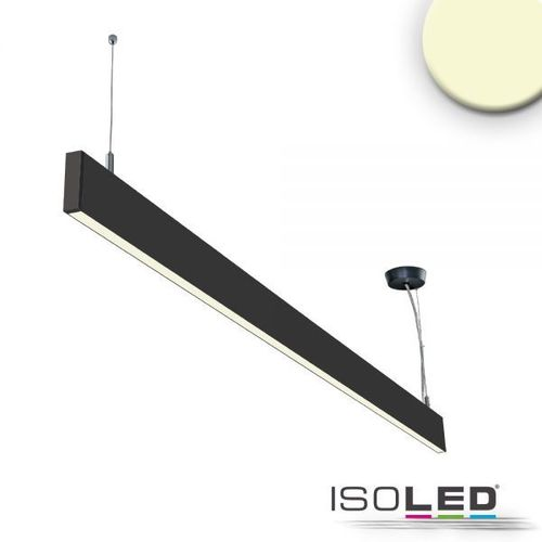 LED Hängeleuchte ISOLED Linear Up+Down schwarz 40W (ca. 225W) 750+2550lm WW