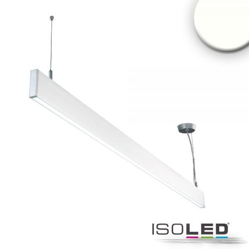 LED Hängeleuchte ISOLED Linear Up+Down weiss 40W (ca. 225W) 750+2550lm NW