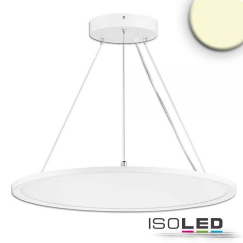 LED Hängeleuchte ISOLED Up+Down weiss 20+20W (ca. 250W) 4000lm WW dimmbar