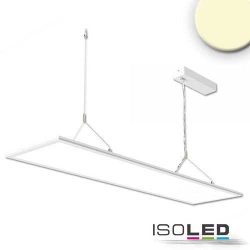 LED Hängeleuchte ISOLED Up+Down weiss 20+20W (ca. 225W) 3700lm WW dimmbar