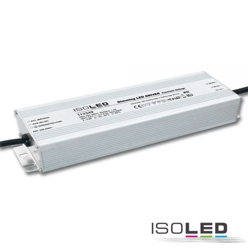 Alimentation LED ISOLED 24VDC 10-200W dimmable, PWM sortie